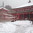 吹雪の比叡山